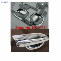 Car styling Door handle Cover Bowl cover for FREELANDER 2 ABS Chrome car accesories