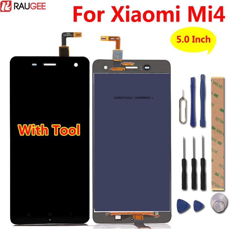 Pour Xiaomi mi4 LCD Display + Écran Tactile 100% Nouveau Digitizer Écran Remplacement Assemblée Panneau de Verre Pour Xiaomi mi 4 m4
