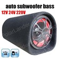 new arrival 5 inch car subwoofer for TF USB flash disk 12V 24V 220V car audio speaker bass remote control tunnel for all cars