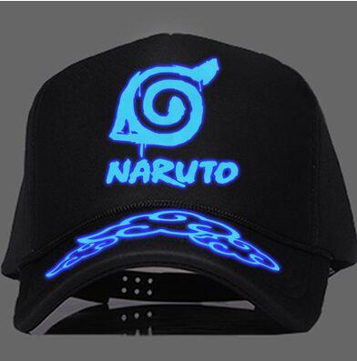 d4d81a67025e7 Soorten cool noctilucent naruto anime warrior snapback ninja logo jpg  392x397 Gorras planas de naruto