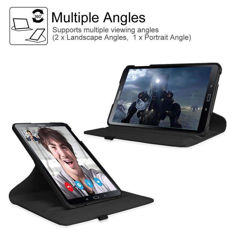 For Samsung Galaxy Tab A A6 2016 Case Magnetic Stand Pu Leather Cover Tab A6 7 0 10 1 SM T580 P585 T280 T285 Case Auto Wake Up in Flip Cases from Cellphones Telecommunications