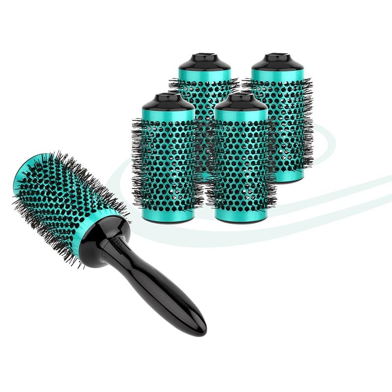 Herramientas de peluquería redondas de aluminio para peluquería - Cuidado del cabello y estilo - foto 4