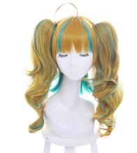 Anime cola de caballo peluca del anime de la peluca cosplay del anime de la peluca del pelo