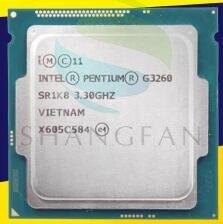 Shipping for New for Intel Pentium G3260  SR1K7 SR1K8 LGA 1150 Dual Core 3.3GHz L3 Cache 3M HD Graphics Desktop CPU
