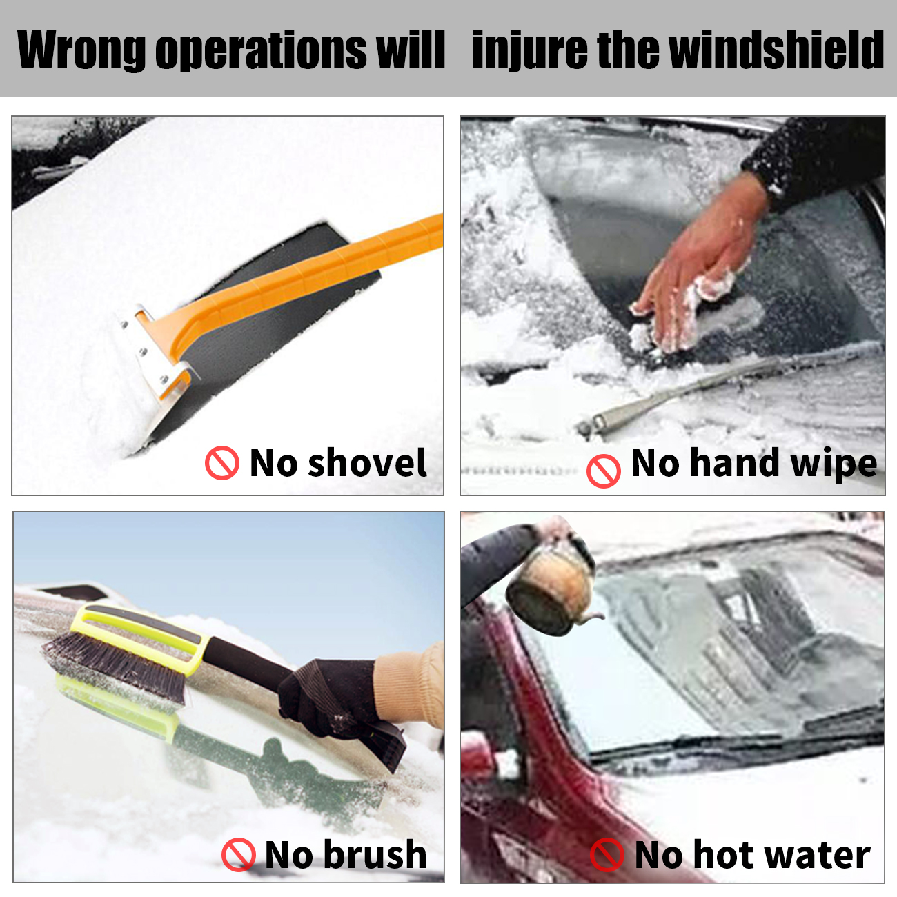 JEEP COMMANDER ALL YEARS HEAVY DUTY WINDSCREEN FROST /& SNOW PROTECTOR