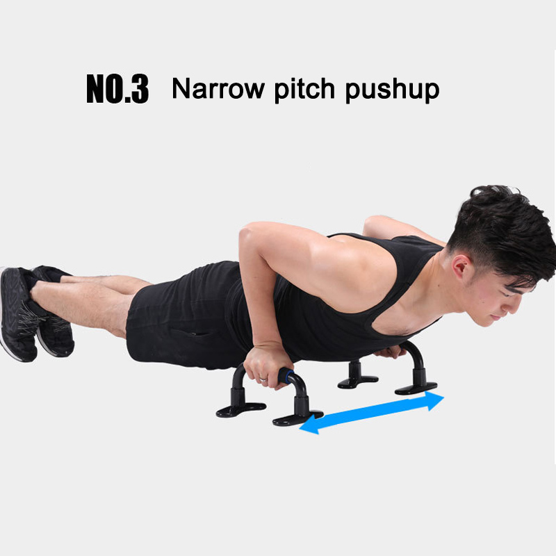 1 Pair Push Up Stands Fitness Exercise Chest Exercise Body Building Equipment Zj55 Be Friendly In Use