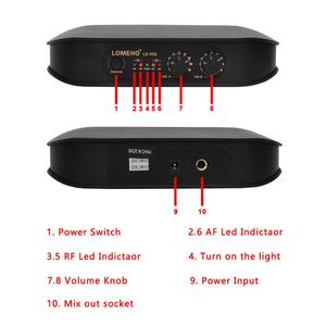 Image 3 - Lomeho LO V06 Dual Handheld VHF Frequencies Dynamic Capsule 2 channels Wireless Microphone for Karaoke System