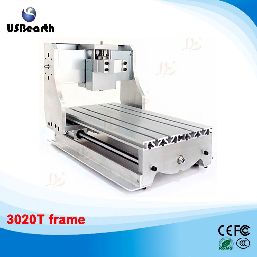 DIY CNC frame for cnc router 3020T with Trapezoidal screw, cnc milling machine part no tax ship from factory new release diy 3040t cnc frame for 3040 cnc router with trapezoidal screw for milling machine frame