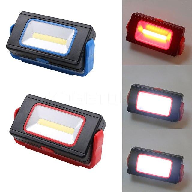 LED Flashlight COB LED Work Light 3 Modes 350 Lumens Inspection Light Lamp  360 Degree