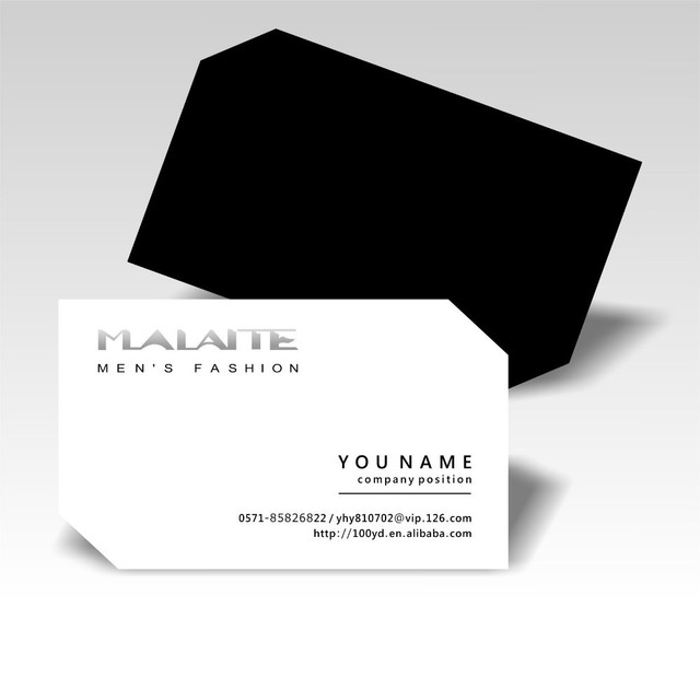 Hot sale concise design customized business cards print die cutting hot sale concise design customized business cards print die cutting two irregular corners simple name card colourmoves