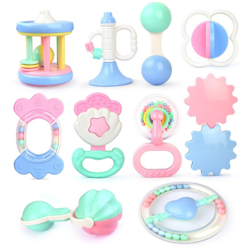 CIKOO baby toys oyuncak Bell baby toys 0-12 months brinquedos para as criancas Hand On The Toy Baby Birthday Gift bebek oyunca30