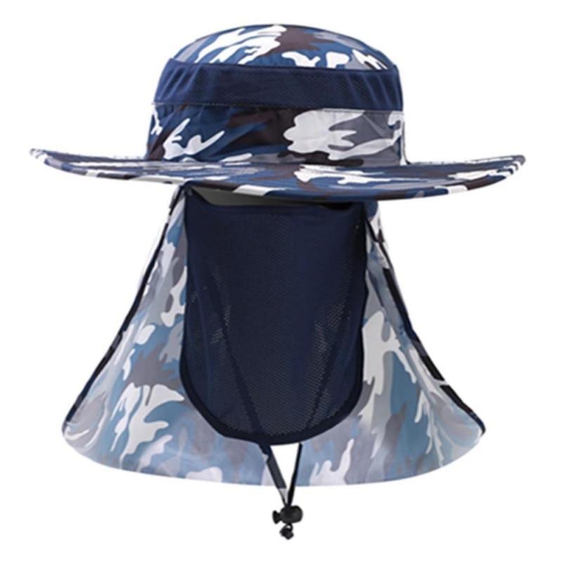Multifunction Face Neck UV Quick Dry Protection Fishing Caps Mesh Breathable Fishing Boating Hiking Hat Visor Anti Sun Hats New