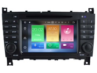 4G RAM Octa(8) Core Android 8.0 CAR DVD player FOR BENZ E CLASS/CLC W203 (2008 2010) car audio gps Multimedia navigation