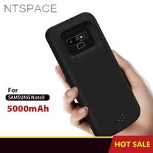 5000 мАч Внешний аккумулятор зарядное устройство чехол для samsung Galaxy Note 9 чехол для питания запасной блок питания аккумулятор чехол для зарядки