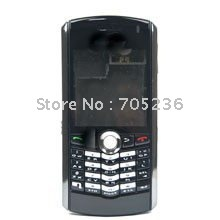 Free Shipping Full Housing Set Black Color for Blackberry Pearl 8110 8120 Full Housing Set for BB8110/BB8120
