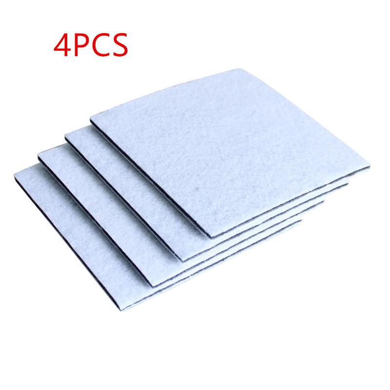 4pcs/lot Vacuum Cleaner HEPA Filter For Philips Electrolux Motor Cotton Filter Wind Air Inlet Outlet Filter