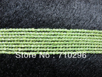 Semi Precious Stone Beads Peridot 3mm Faceted Gem Stone Jewelry Making Beads15 5 String 5strings Lot