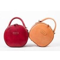 Круглая сумка 2019 горячая Распродажа Новая модная сумка мессенджер кожаная женская сумка на плечо женская маленькая вм
