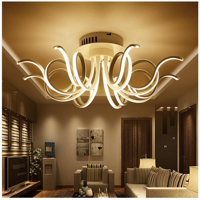 Moderne led wohnzimmer deckenleuchten schlafzimmer plafond lampe ...