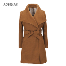 Feminino femmes manteau élégant