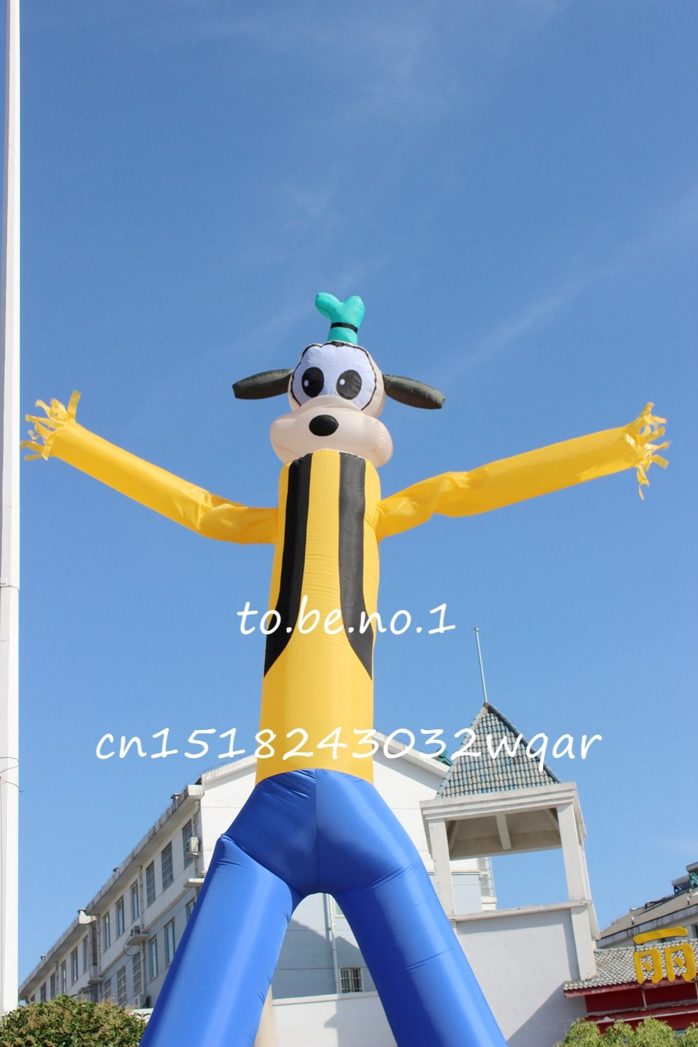 Sky Dancer Air Dancer Inflatable Toys 6M 20FT Inflatable Tube NO Blowers NO blower Inflatable Toys Shop ads sign S1003 цена и фото