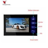 Yobang Security freeship 7 inch Monitor for video doorphone doorbell only indoor machine for door intercom