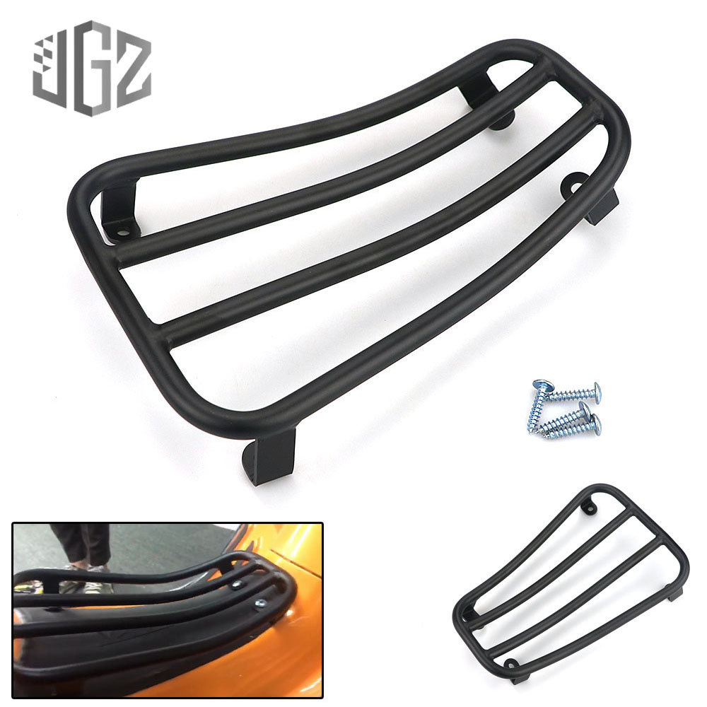 Motorcycle Aluminum Foot Pedal Holder Rear Carbon Luggage Rack Bracket for VESPA Sprint Primavera 150 2017