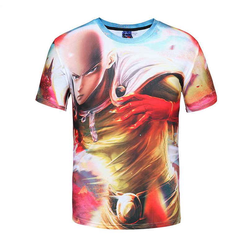 New Fashion tshirts Men tshirt Cartoon characters 3D printed t-shirts Print Casual funny anime T-Shirt t shirt clothing homme