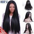 Полный человеческих волос парики для женщин Glueless полные парики перед парики человеческих волос