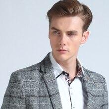 Mwxsd brand Quality  Autumn Suit Blazer Men Fashion Slim Male Suits Casual Suit Jacket Masculine Blazer Size M-3XL