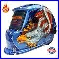 Novo Auto Escurecimento Solar De Soldagem Águia Máscara Capacete de Protecção com a Função de Moagem Ideal para ARC/MIG/TIG/vara Máscara de Solda