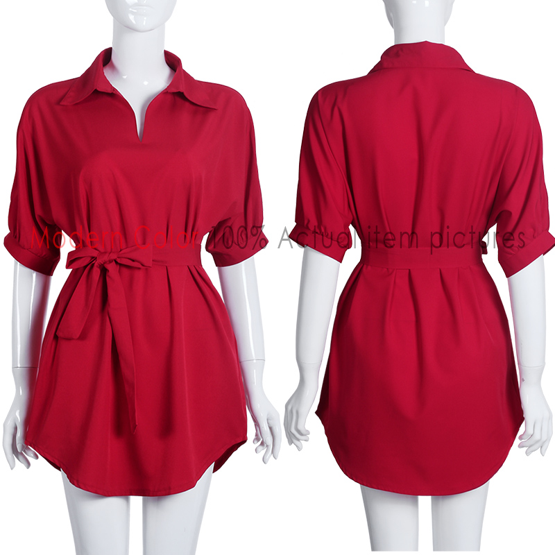 Awesome Envy Women Designer Shirt W5101440 Red