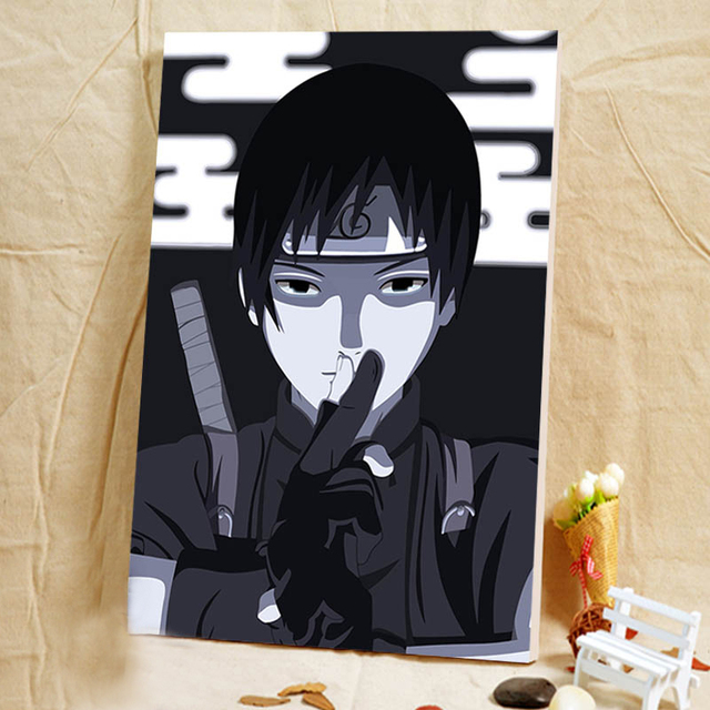 Naruto Diy Oil Painting Japan Style Cartoon Pictures Digital Paint