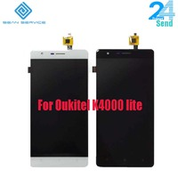 For 100 Original Oukitel K4000 Lite LCD Display Touch Screen Assembly Tested LCD Digitizer Glass Panel