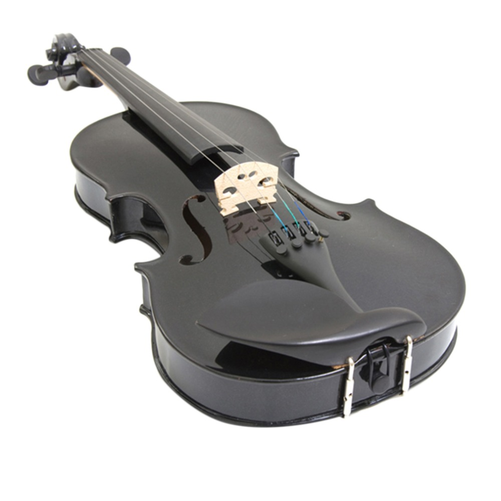 ФОТО New Music 4/4 Full Size Natural Acoustic Wood Violin Fiddle with Case Bow Stock in US