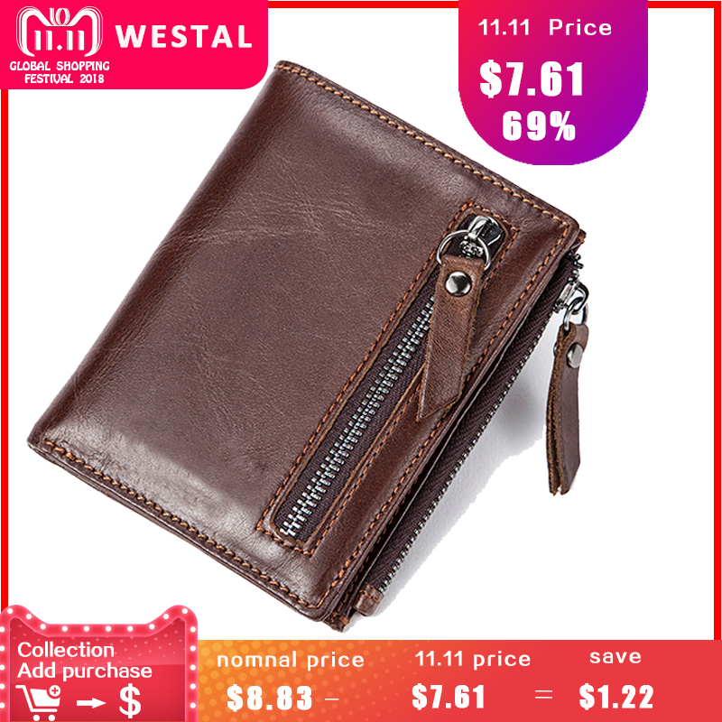MVA Men Wallets Genuine Leather Wallet for Credit Card Holder Zip Small Wallet Man Leather Wallet Short Slim Coin Purse Men 604 2017 new wallet small coin purse short men wallets genuine leather men purse wallet brand purse vintage men leather wallet page 9