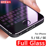 For Apple IPhone 5s Glass IPhone 5s Screen Protector 2 5D Mofi 9H Full Glass For