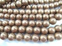 Продажа 5 пряди 2-10 мм brozne Матовая Гематит gem позолоченные, круглый шар серебро золото бронза смешанная бисера