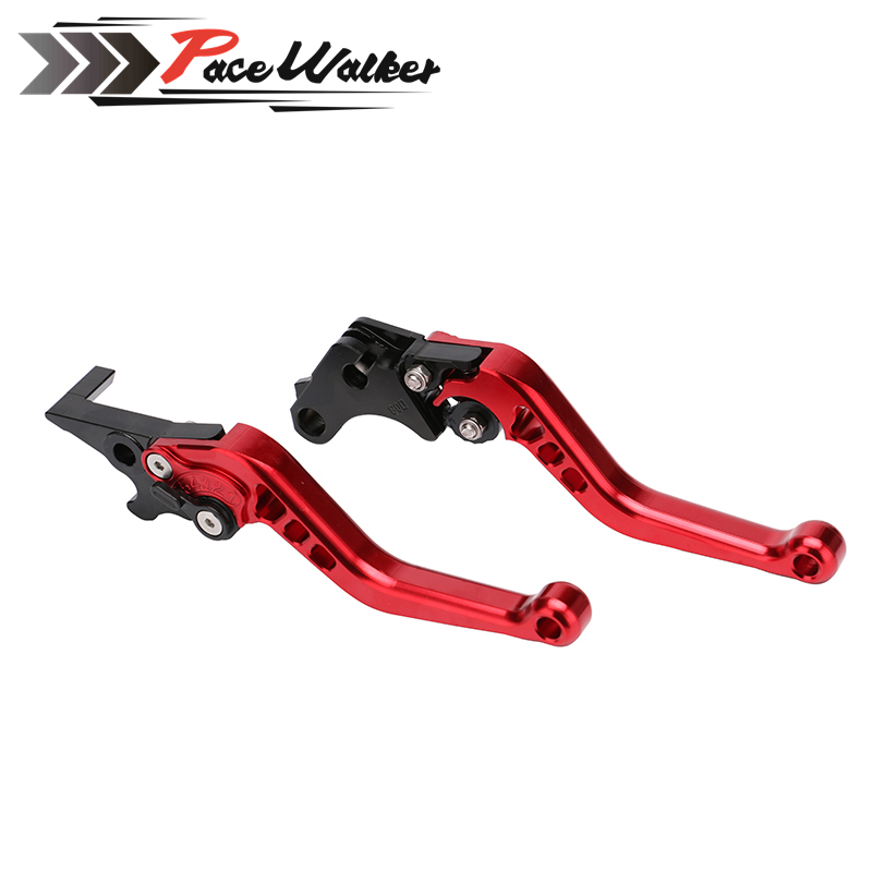 Free shipping Motorcycle CNC aluminum Shorty Adjustable Brake Clutch Levers For Honda GROM MSX 125 2013 - 2015 billet alu folding adjustable brake clutch levers for motoguzzi griso 850 breva 1100 norge 1200 06 2013 07 08 1200 sport stelvio