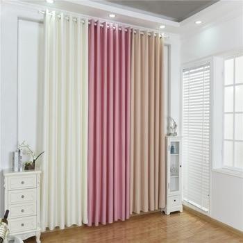 Multi-color Optional Cotton Linen Blinds Velvet Linen ...