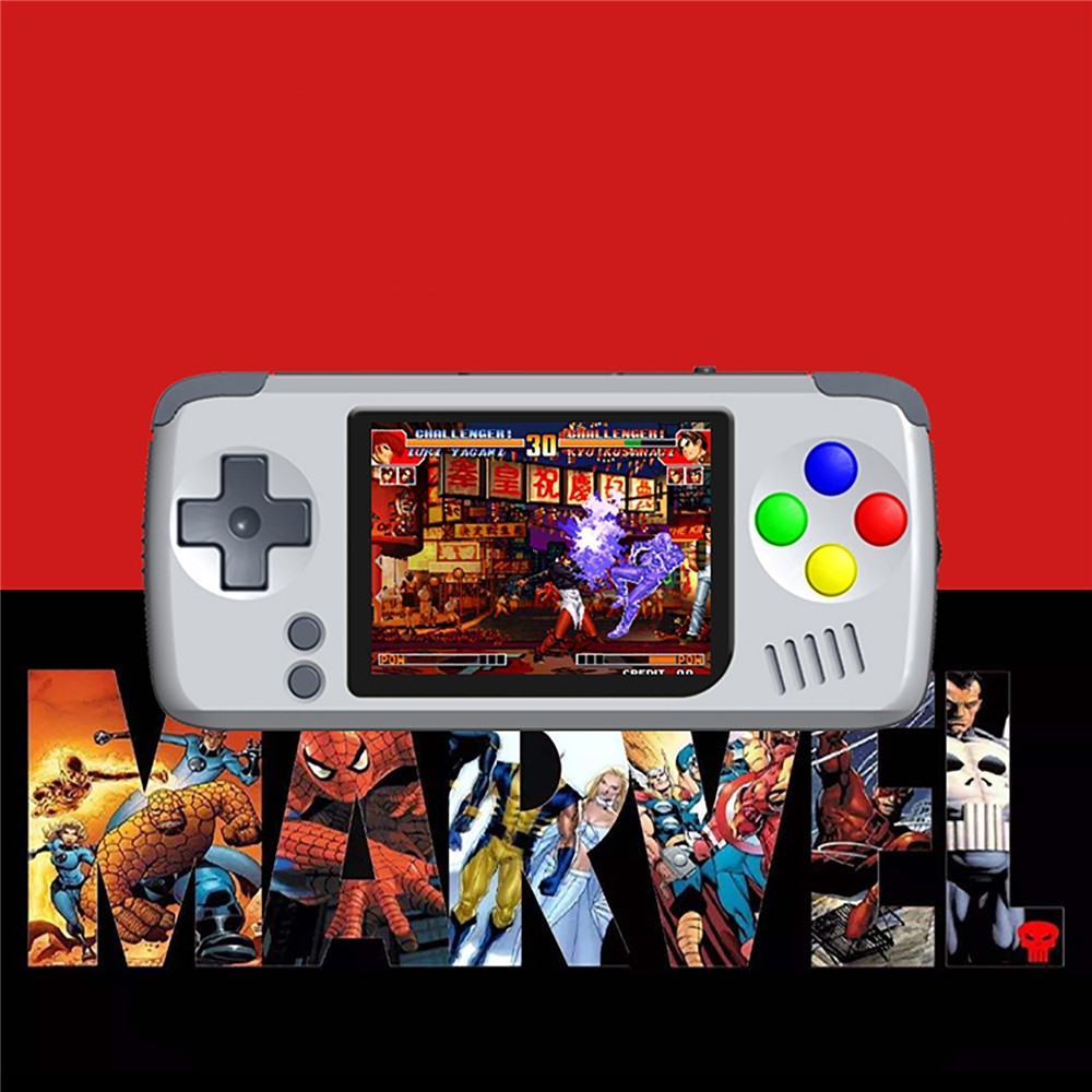 2.4 IPS Display Screen Mini Handheld Game Console Linux System Portable Video Retro Gaming Players 16G image