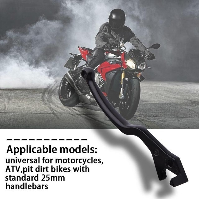 SPEEDWOW Universal Motorcycle Handle Grips Handle Lever Bar Front Brake Lever With Clutch Lever For Yamaha Suzuki Honda