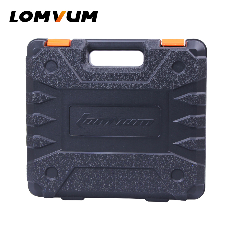 LOMVUM Cordless Drill Plastic Case BMC Box Electric Dill with Battery replacement new touch screen digitizer glass for samsung galaxy tab 2 p5100 p5110 n8000 10 1 inch black white free shipping