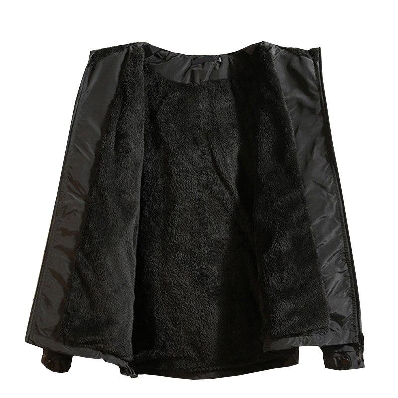 Зимняя новинка, простой дизайн, Толстая теплая куртка с капюшоном для мужчин, черный, серый цвета, молодежная мода, свободные ветрозащитные ... - 2