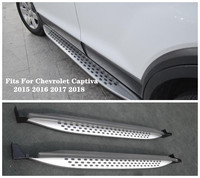 High Quality Aluminum alloy Car Running Boards Side Step Bar Pedals Fits For Chevrolet Captiva 2015 2016 2017 2018