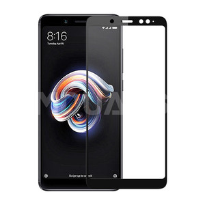 Image 3 - 9D Tempered Glass on the For Xiaomi Redmi 5 Plus S2 4X 5A Redmi Note 4 4X 5 5A Pro Screen Protector Protective Glass Film Case