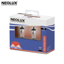 Галогеновая лампа головного света Neolux N472EL-2SCB H4 цвет стандартный желтоватый 12В 55Вт 4000K (2 шт)