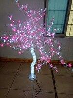 Promo Envío Gratis 1,5 M/5ft altura interior exterior LED cristal Luz de cerezo vacaciones jardín decoración de la boda 576 LEDs