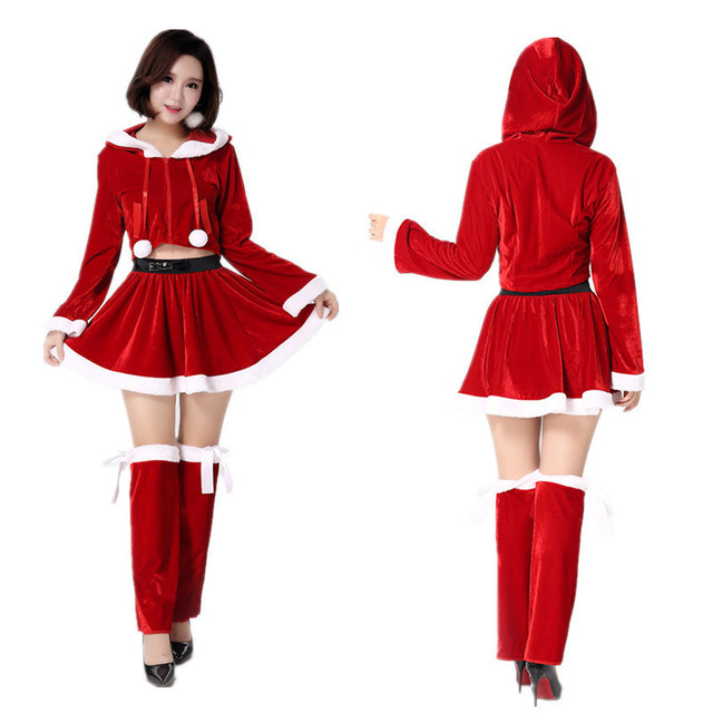 Aliexpress.com : Buy Cute Christmas Costume Girl Christmas Three ...