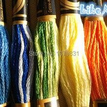 Похожие DMC цвета вариации вышивка хлопчатобумажная нить для вышивки крестом 35 цветов